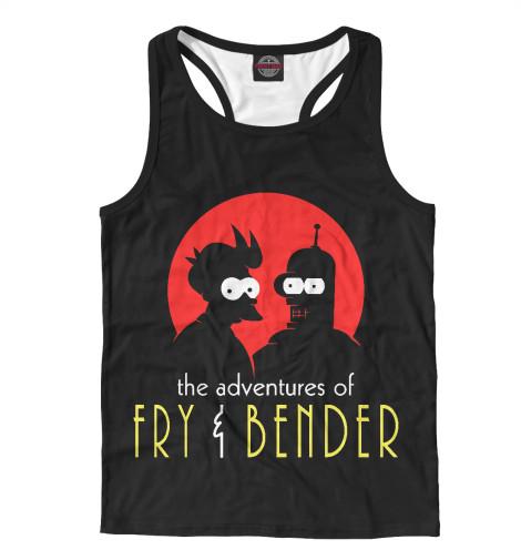 Майка борцовка Print Bar Fry & Bender fry s liar