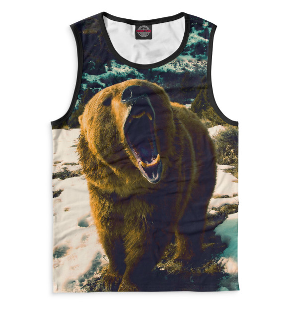 Купить Майка для мальчика Медведь MED-847886-may-2