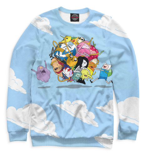 Купить Женский свитшот Adventure Time ADV-299312-swi-1
