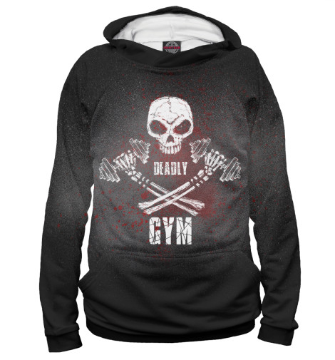 Худи Print Bar Deadly GYM deadly deceit