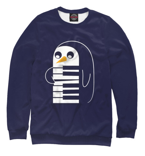 Свитшот Print Bar GUNTER THE PENGUIN футболка print bar gunter the penguin