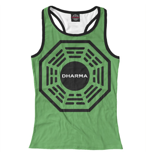 Майка борцовка Print Bar Dharma Initiative hipc initiative