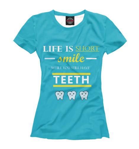 Футболка Print Bar Dental Wisdom футболка print bar ghost wisdom