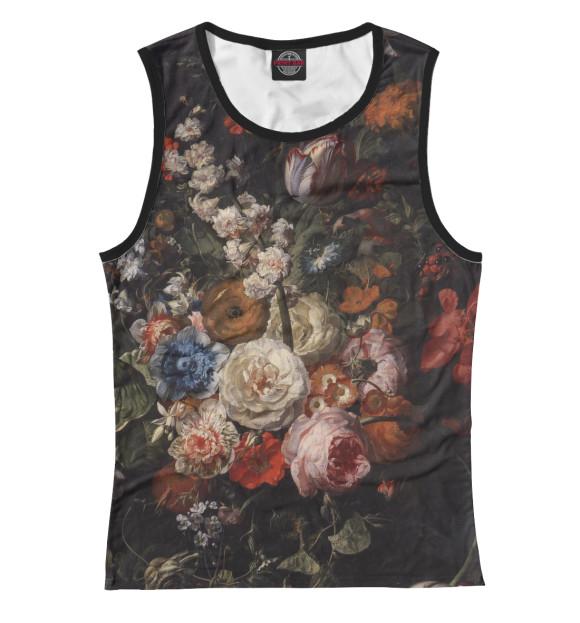 Купить Женская майка Цветы CVE-146954-may-1