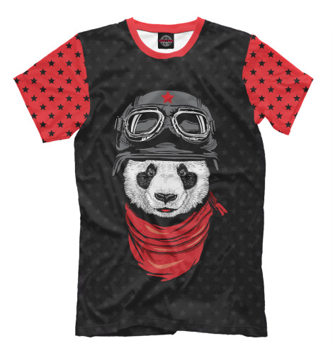Футболка Print Bar Panda Pilot футболка print bar panda color