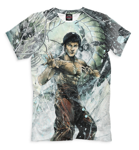 Мужская футболка Брюс Ли