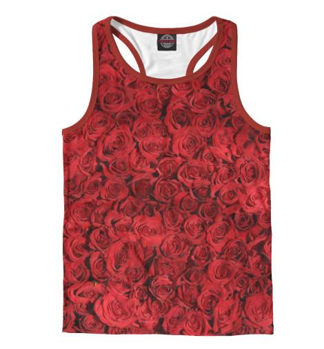 Майка борцовка Print Bar Роза майка борцовка print bar медитативная роза