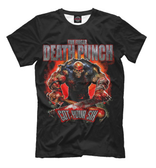 Мужская футболка Five Finger Death Punch Got Your Six