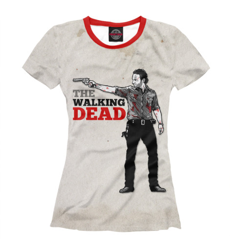 Футболка Print Bar The Walking Dead свитшот print bar футболка walking dead