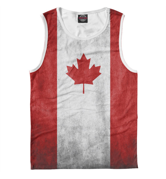 Купить Майка для мальчика Флаг Канады CTS-110169-may-2