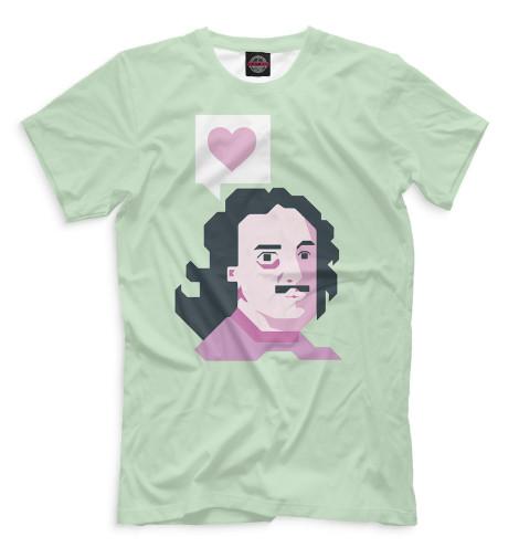 Мужская футболка Петр I