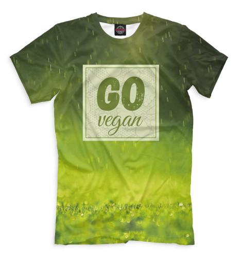Футболка Print Bar Go Vegan свитшот print bar go vegan