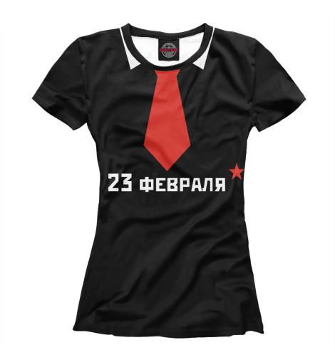 Женская футболка Галстук от Print Bar
