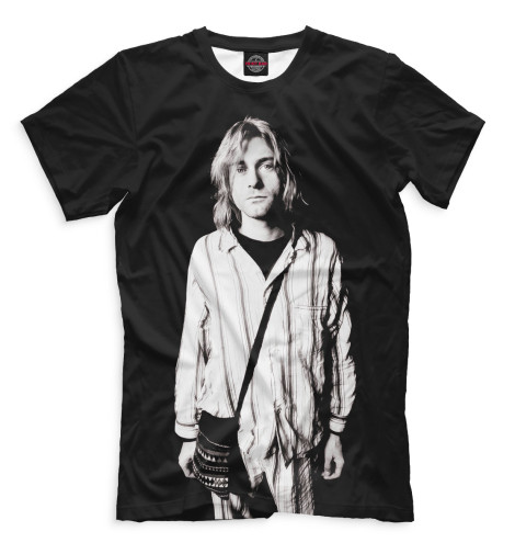 Мужская футболка Курт Кобейн