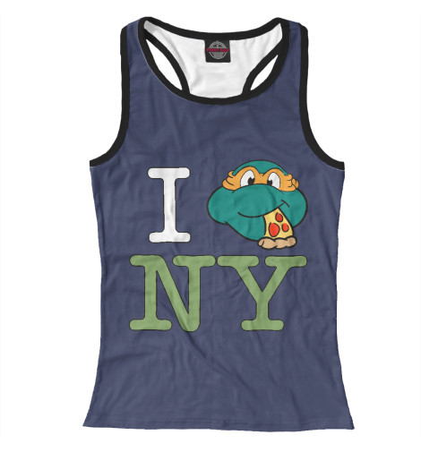 Майка борцовка Print Bar Love New York dkny love from new york for women где