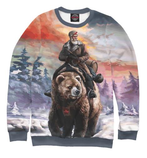 Купить Свитшот для девочек На медведе VSY-660347-swi-1