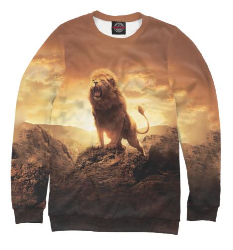 Свитшот Print Bar Savannah Lion сандалии savannah savannah sa040awiez63