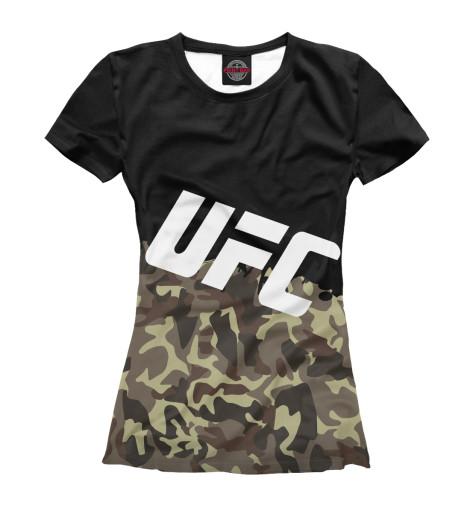 Футболка Print Bar UFC Камуфляжная футболка print bar shogun assassin