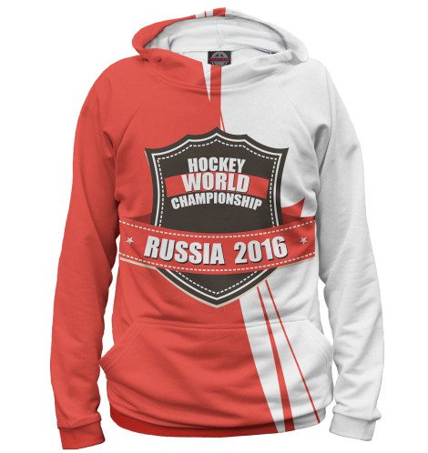 Женское худи Россия 2016 Print Bar HOK-598290-hud