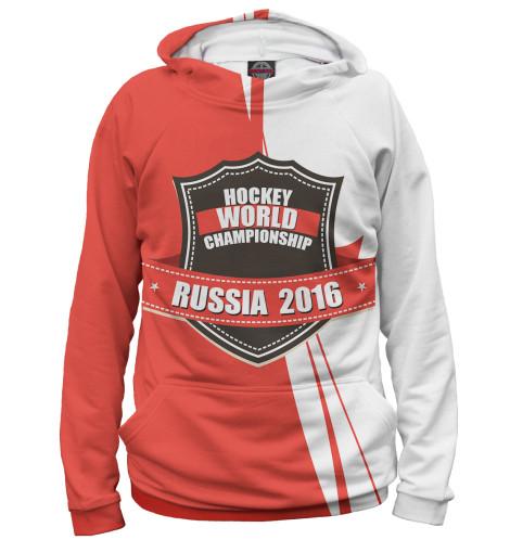 Мужское худи Россия 2016 Print Bar HOK-598290-hud