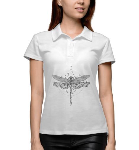 Поло Print Bar Geometric dragonfly худи print bar geometric dragonfly
