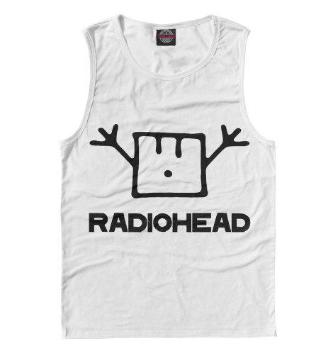 Майка Print Bar Radiohead cd из японии radiohead
