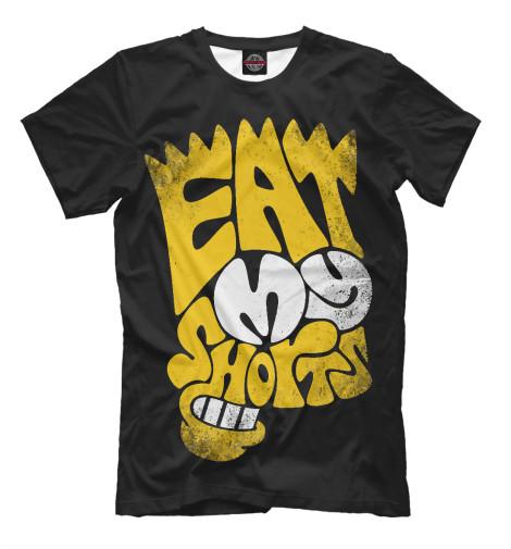 Футболка Print Bar Eat My Shorts футболка print bar we eat rhythm