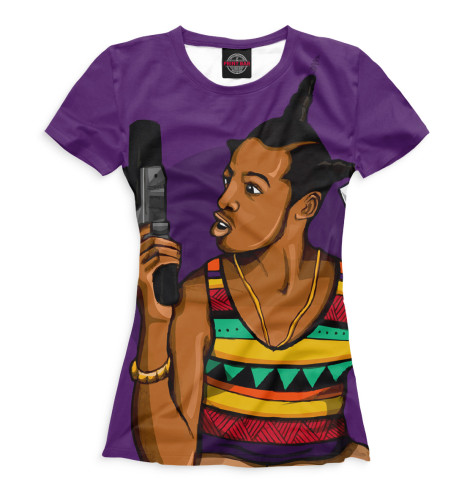 Женская футболка Не грози южному централу