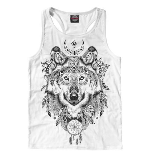 Майка борцовка Print Bar Волк тотем футболка print bar волк тотем
