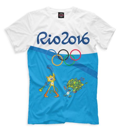 Футболка Print Bar Олимпиада Рио-2016 купить штатную магнитолу на киа рио в спб