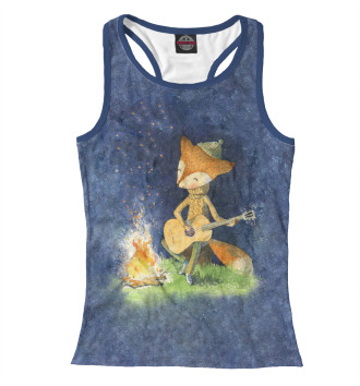 Женская Борцовка A Tiny Fox and his Guitar