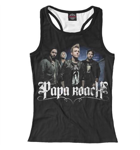 Майка борцовка Print Bar Papa Roach