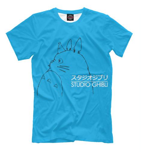 Футболка Print Bar Studio Ghibli пылесос ghibli performance sp8 i co 16891210001