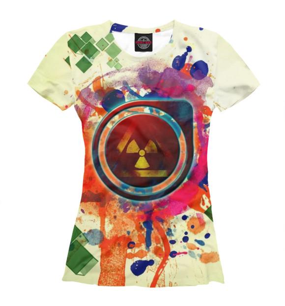 Купить Женская футболка Абстракция APD-909532-fut-1