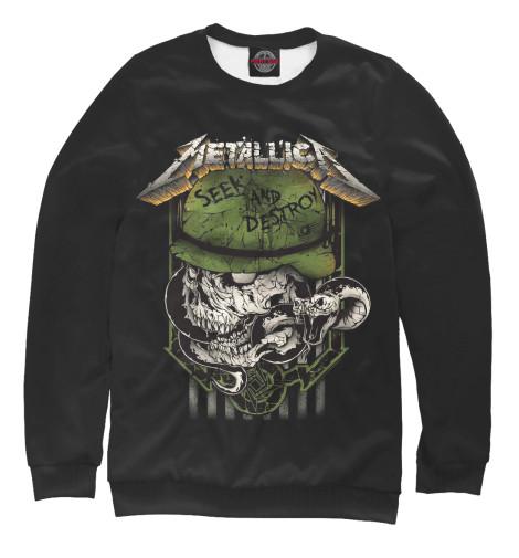 Свитшот Print Bar Metallica Seek and Destroy seek thermal