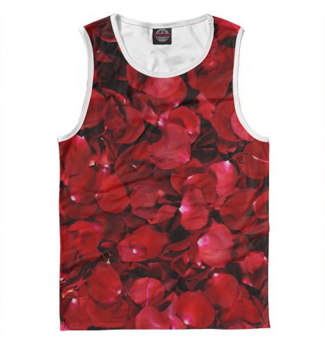 Майка Print Bar Лепестки роз