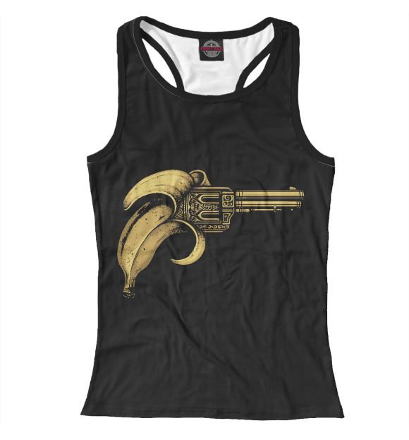 Купить Женская майка-борцовка Банановый пистолет MIN-558836-mayb-1