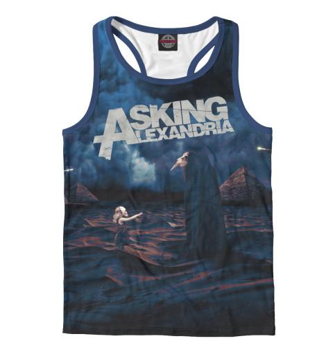 Майка борцовка Print Bar Asking Alexandria футболка с полной запечаткой для мальчиков printio asking alexandria the black