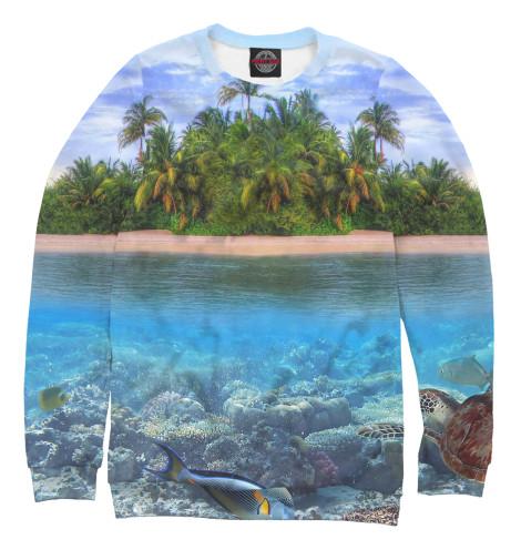 Свитшот Print Bar Тропический остров