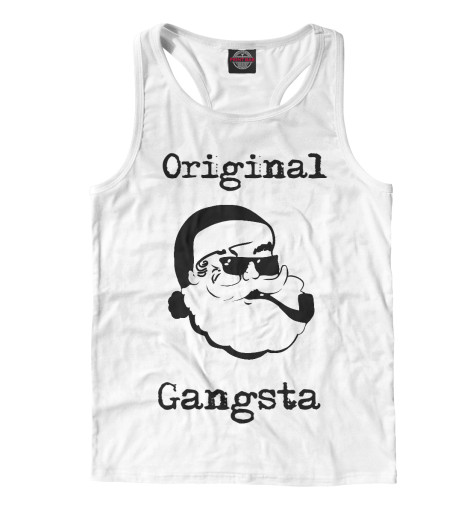 Майка борцовка Print Bar Original Gangsta худи print bar gangsta