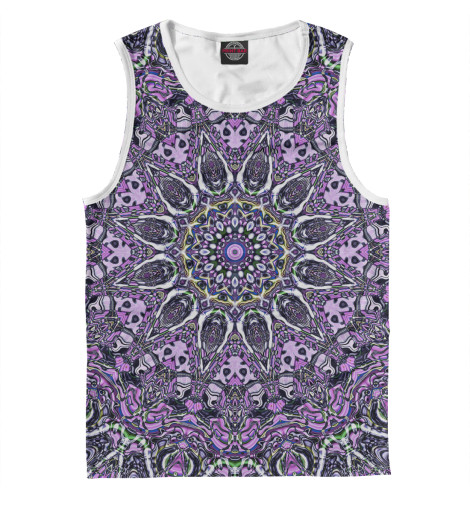 Майка Print Bar Purple mandala майка print bar purple mandala