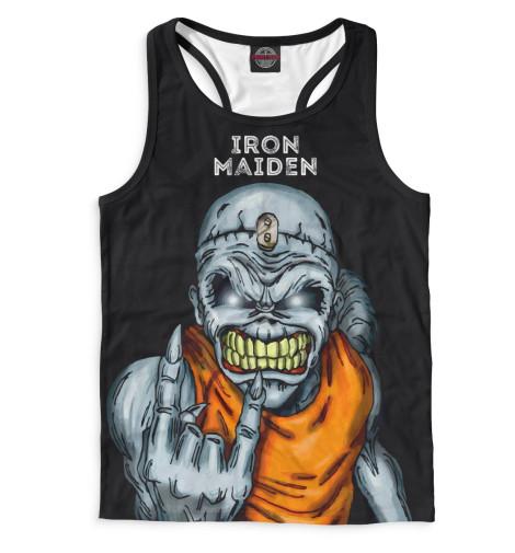 Мужская майка-борцовка Iron Maiden