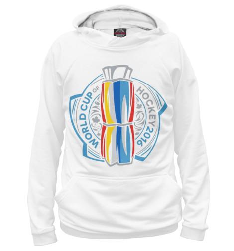 Фото - Женское худи Кубок Мира 2016 от Print Bar белого цвета