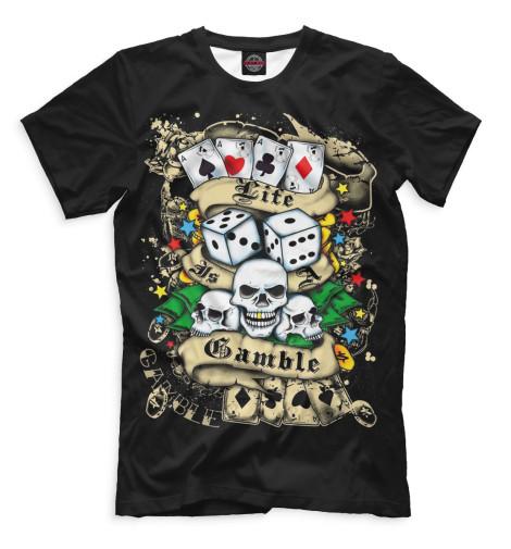 Мужская футболка Покер
