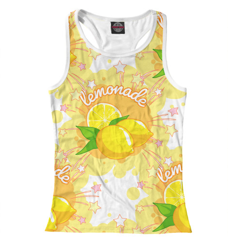 Майка борцовка Print Bar Lemonade жидкость zap lychee lemonade 0мг 20мл