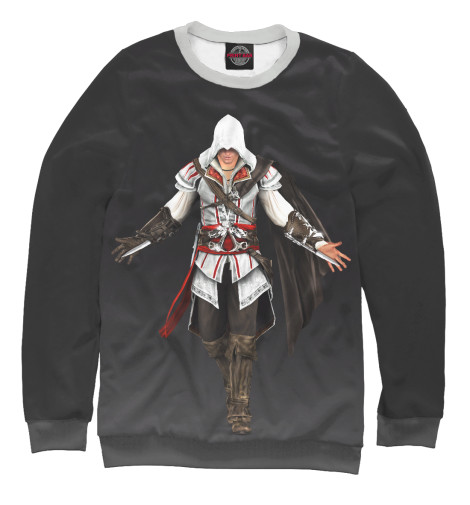 Свитшот Print Bar Ezio Auditore свитшот print bar pixel ezio