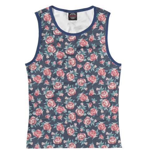 Купить Женская майка Цветы CVE-905346-may-1