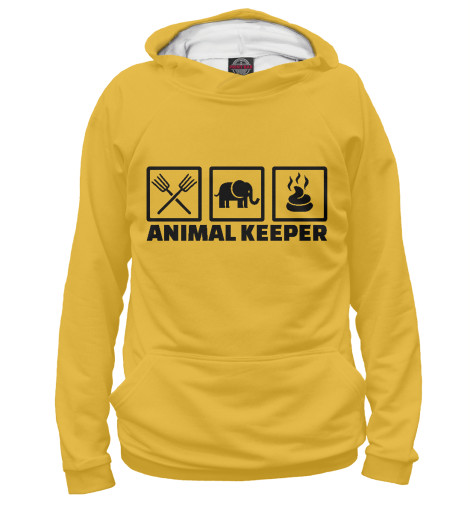 Худи Print Bar Animal Keeper цена