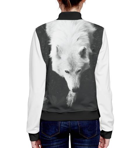 Бомбер Print Bar Волки василий сахаров степные волки