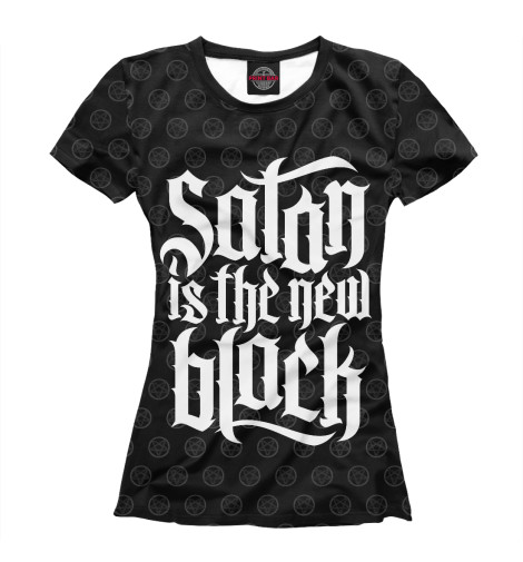 Футболка Print Bar Satan is the new Black